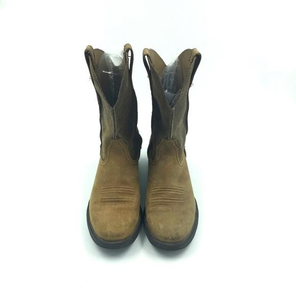 a36d754f518 ARIAT Rambler Scratched Earth Western Cowboy Boot